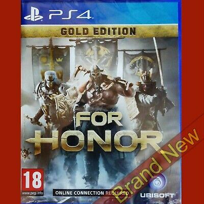 FOR HONOR GOLD EDITION - PlayStation 4 PS4 ~18 Brand New & Sealed