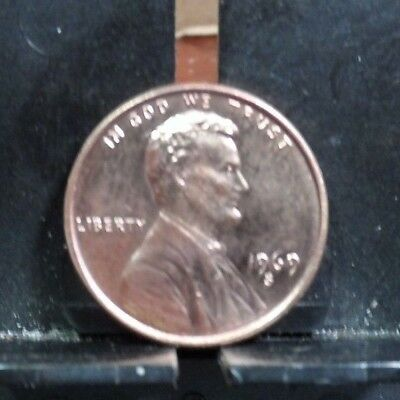 Uncirculated 1969S Us Lincoln Memorial Penny (122717)2....free Domestic Shipping
