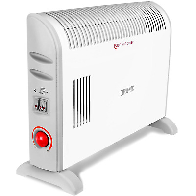 2kw Portable Electric 2000w Thermostat Convector Heater With Timer
