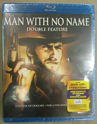 Man with No Name (2 Disc Blu-ray Double Feature) NEW FREE SHIPPING!!