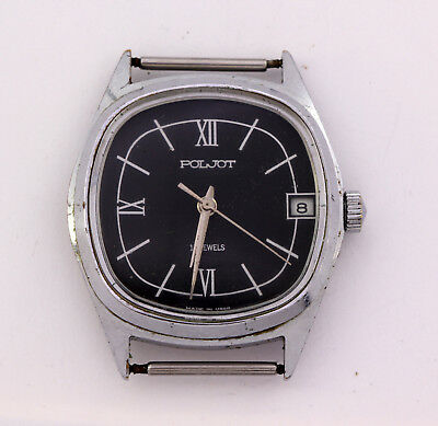 Vintage Soviet (USSR, Russian, СССР) men's mechanical wrist watch Poljot