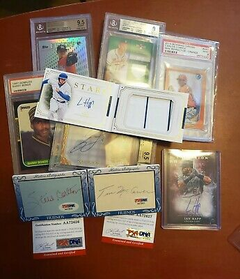 Baseball Autograph/Relic Card Lot + Bonus (Read Description)