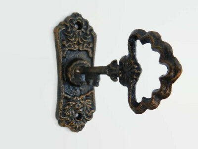 Key Wall Hook, Cast Iron Wall Hook, Wall Hanger, Skeleton Key Victorian Bath NEW