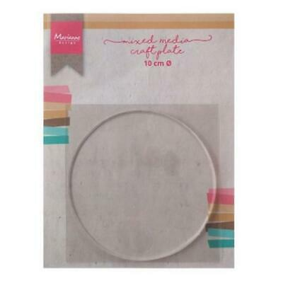 Marianne Design Mixed Media Craft Plate - 10cm Circle LR0016
