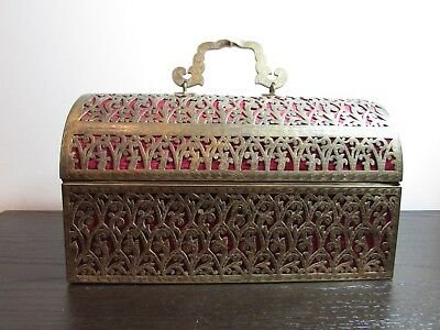 19Th Century French Gothic Revival Bronze Box