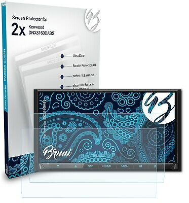 Bruni 2x Protective Film for eFlux Street 40 Screen Protector Screen Protection