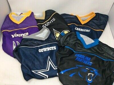 c5283a17932 NFL PLAY 60 Youth COLTS Reversible Flag Football Jersey SIZE ADULT ...