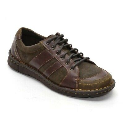 af1f4a634a4b BORN Mimas Lace Up OXFORDS Ladies 6   36.5 Brown Leather Shoes New in Box