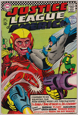 Justice League of America #50 The Lord of Time