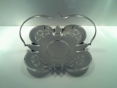 Vintage Penguin Plate Serving Tray with Folding Handle,Made in  England.