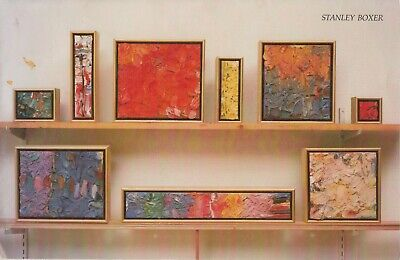 American Artist Stanley Boxer: New Paintings Andre Emmerich Gallery 1983