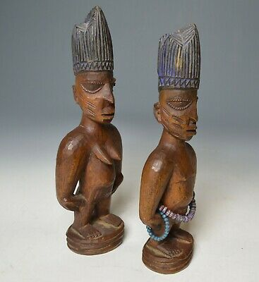 African tribal good Pair Yoruba Ibeji Oyo