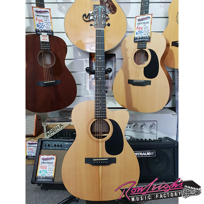 Acoustic Electric Guitars Guitars & Basses Sigma Omtc-1ste-sb 000 Small Body Acoustic Electric Guitar Ample Supply And Prompt Delivery