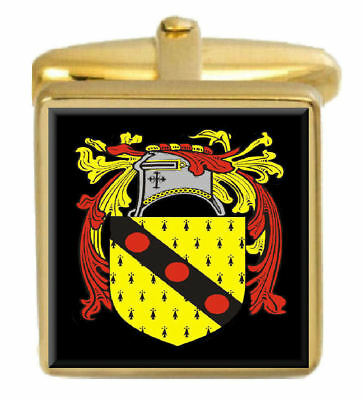Wallace Family Crest Surname Coat Of Arms Brown Leather Keyring Engraved