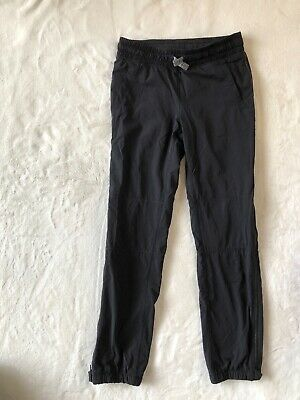Two pairs Girls IVIVVA by Lululemon Jogger Track Pants, Size 8, with zippers