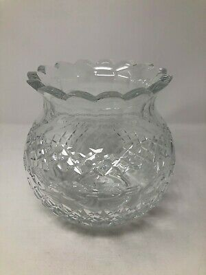 Waterford Crystal American Heritage Collection Martha Washington Unity Vase 8""