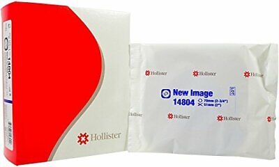 "Hollister New Image Convex CTF Skin Barrier 2-3/4"" Flange 5/bx 14804"