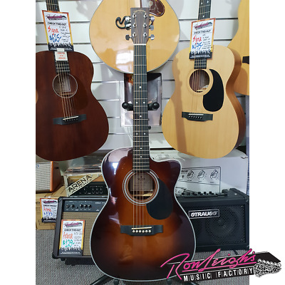 Guitars & Basses Sigma Omtc-1ste-sb 000 Small Body Acoustic Electric Guitar Ample Supply And Prompt Delivery Acoustic Electric Guitars