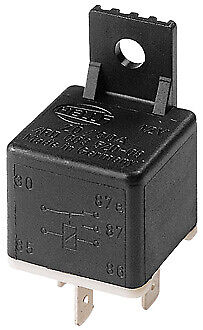 Hella Change-Over Relay - 5 Pin, 12V DC 3080