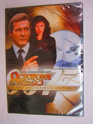Octopussy - ROGER MOORE  (Two-Disc Ultimate Edition, DVD, 2008) BRAND NEW  SEALE