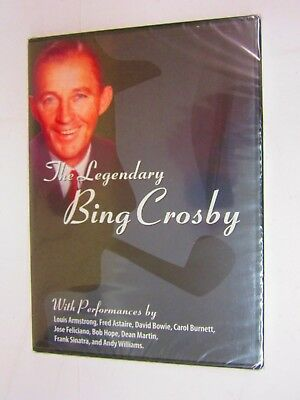 The Legendary Bing Crosby (DVD, 2010)  BRAND NEW    FACTORY SEALED  FREE SHIPPIN