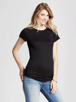 96ee93e6 Maternity Crew Neck T-Shirt - Isabel Maternity by Ingrid & Isabel. Small  Black