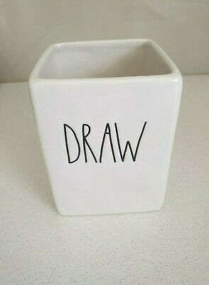Rae Dunn Pen Cup - DRAW - Rae Dunn Artisan Collection By Magenta