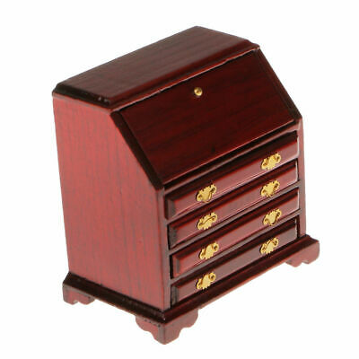 New 1/12 Dollhouse Miniature Furniture Wood Cabinet Drawer Living Room Bedroom