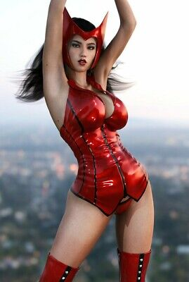 Scarlet Witch From The Avengers Sexy Magnet  Picclick