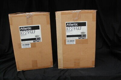 Atlantic Technology AT-2S  bookshelf speakers in ex display condition