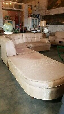 Remarkable 1950S Mid Century Modern Sofa 360 00 Picclick Onthecornerstone Fun Painted Chair Ideas Images Onthecornerstoneorg