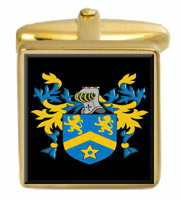 Topps Family Crest Surname Coat Of Arms Brown Leather Keyring Engraved