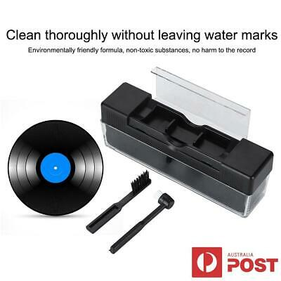 New Vinyl Record Cleaning Kit Cleaner Remover Carbon Fiber Anti Static Brush AU