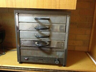 Pizza & Pie Warmer - Works - very good condition - 4 Trays -3 Heating Settings