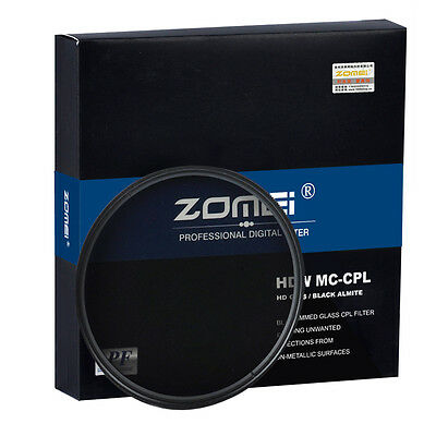 40.5/49/52/67/72/77/82mm Slim HD Circular Polarizing CPL Filter for Camera