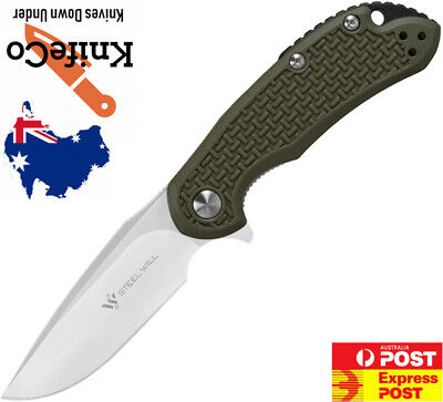 Steel Will – Cutjack Mini C22M-1 Linerlock OD Green