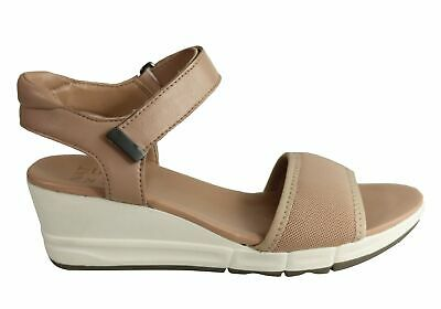 New Naturalizer Irena Womens Leather Comfortable Cushioned Wedge Sandals