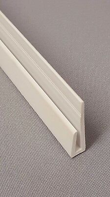Hygienic wall cladding trims and fixing profiles- WHITE