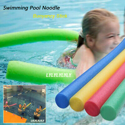 9b773acfe95a6 FOAM POOL STICK Noodle Water Floating Swimmer Beginner Swimming ...