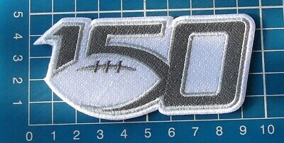 """2019 NCAA College Football Seasons 150th Anniversary Logo 3.5"""" Patch embroidered"""