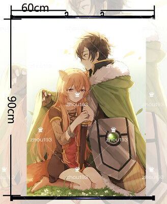 The Rising of the Shield Hero Wall Scroll Poster Home Decor Gift 60*90cm#0228
