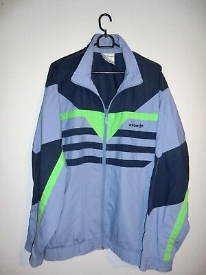 ORIGINAL ADIDAS JACKE Gr. L XL Herren Damen Trainingsjacke Vintage Retro Jacket