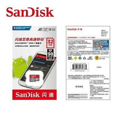 SanDisk 32GB Ultra SDHC SD Card Class 10 UHS-I Memory Card 98MB/S Mobile devices