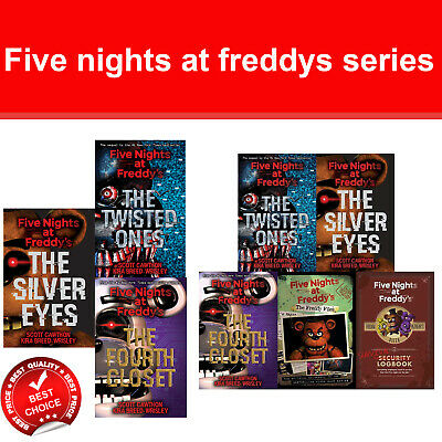 Five nights at freddys series scott cawthon 5 books collection set pack NEW