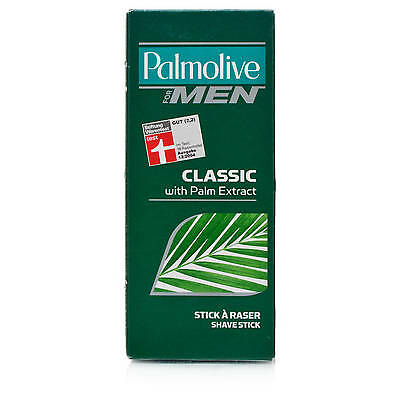 3 x Palmolive for Men Classic Shave Stick with Palm Extract 50g