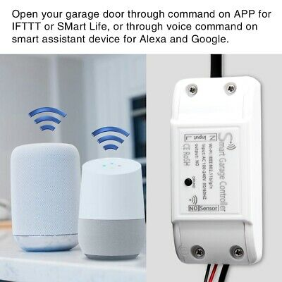 Wireless Wifi Garage Door Remote Control Gate Door Controller Opener Universal