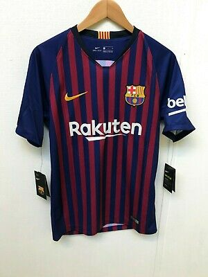 Barcelona FC Men's Nike 2018/19 Home Shirt - S - Coutinho 7 - New With Defects
