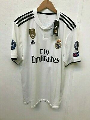 Real Madrid Men's adidas 2018/19 Home Shirt - XL - Marcelo 20 - New With Defects
