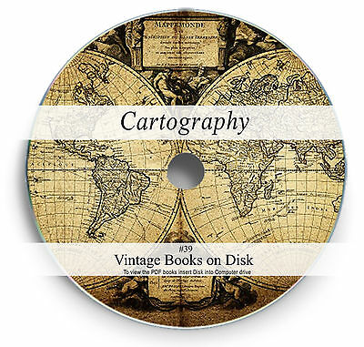 Rare Books on DVD Ancient Map Drawing Making Cartography History Atlas Design 39