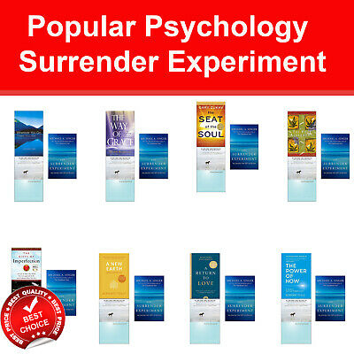 Surrender Experiment books set Four Agreements, Untethered Soul, Power of Now